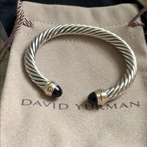 David Yurman Cable Classics Bracelet black onyx gl